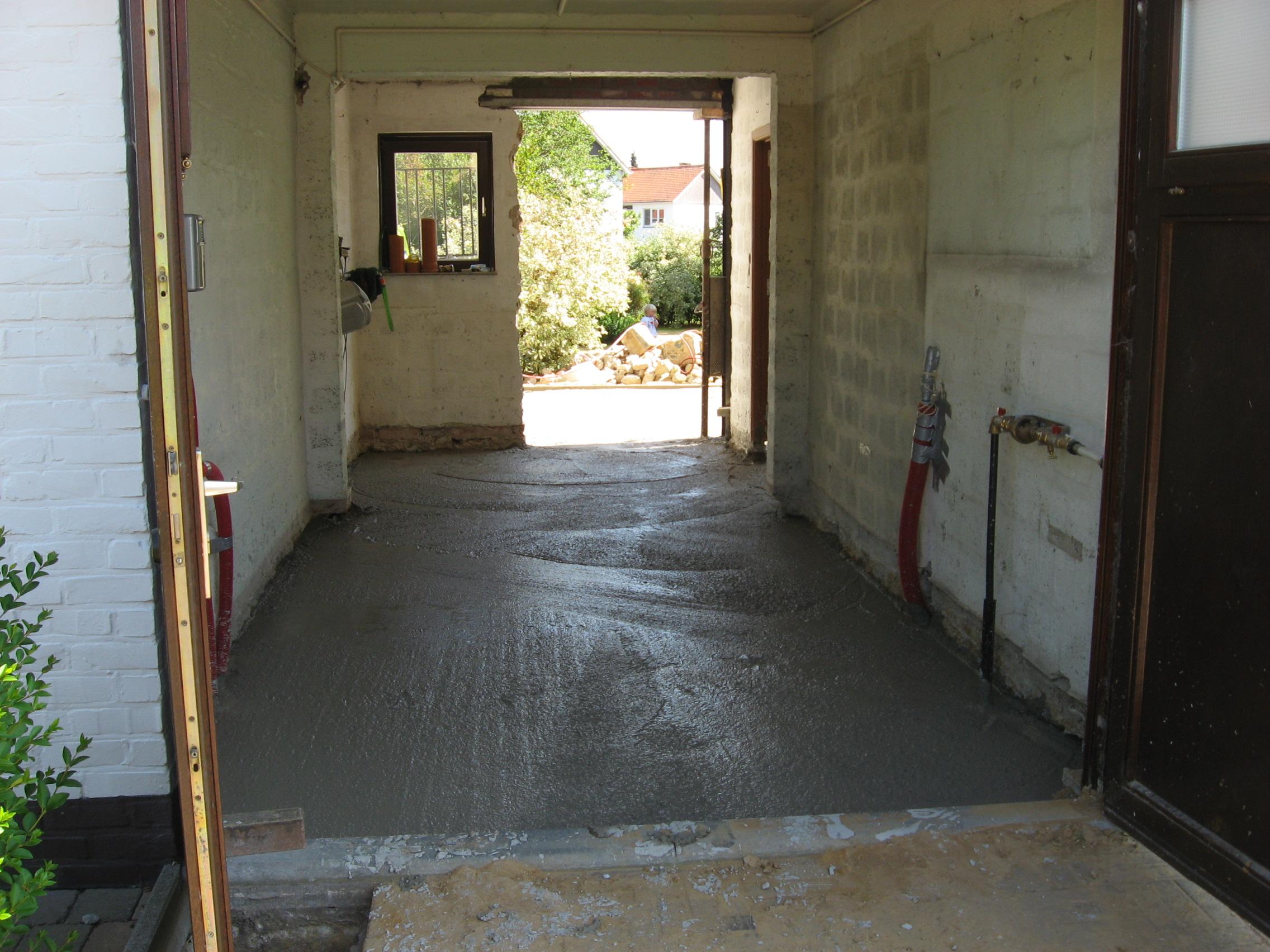 beton aan huis geleverd